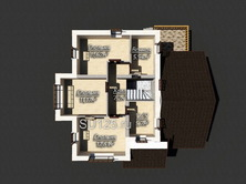Проект дома 12 на 11