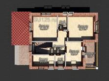 Дом из пеноблоков 8 на 10 с террасой