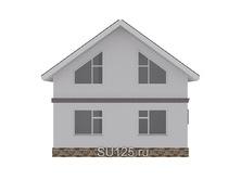 Дом из пеноблока 9 на 9