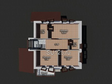 Дом 8 на 8 из пеноблоков
